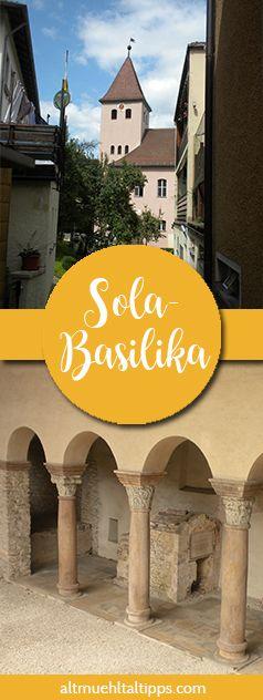 Baudenkmal aus dem 7. Jahrhundert: Die Solabasilika, eine alte Kirche in Bayern.