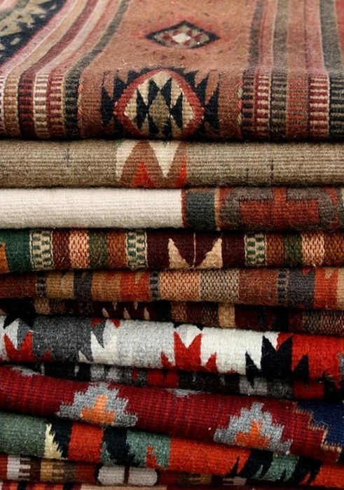 These cherokee indian inspired patterns are really in right now!