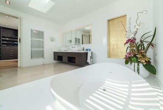 baño principal, decoración, diseño,