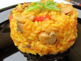 Arroz con verduras,receta dieta,Cocina tradicional.