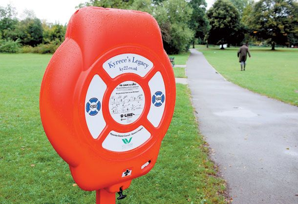 Life-saving equipment installed near river in Marlow as part of Kyrece's Legacy campaign | News in Marlow, Bourne End and Flackwell Heath | Get The Latest Maidenhead Advertiser News