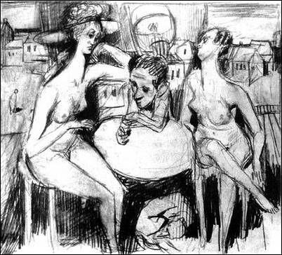 Bruno Schulz's drawings