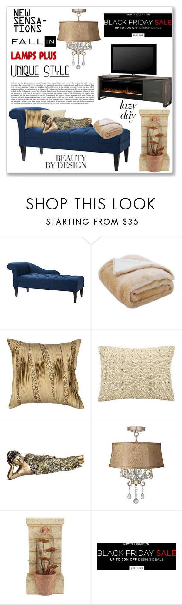 """Sleep In: Lazy Day Lamps Plus"" by kiveric-damira ❤ liked on Polyvore featuring interior, interiors, interior design, home, home decor, interior decorating, Safavieh, Kathy Ireland, John Timberland and modern"