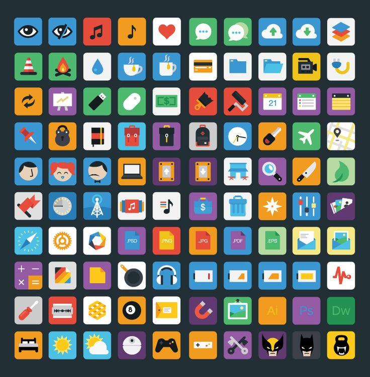 Stylicons - Free Flat Icon Set