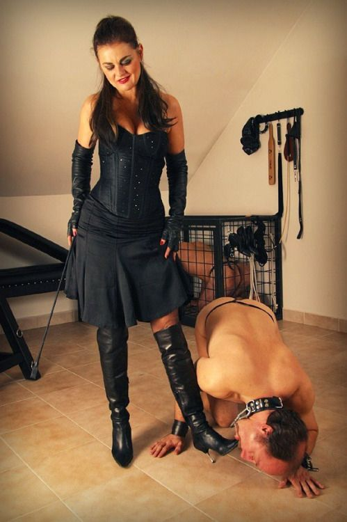 So Nice to see that this male knows his proper place in the world - On his knees worshiping his Mistress's Boots! https://www.amazon.com/Mistress-Benay/e/B00C8UXGYW/ref=sr_tc_2_0?qid=1472052184&sr=1-2-ent