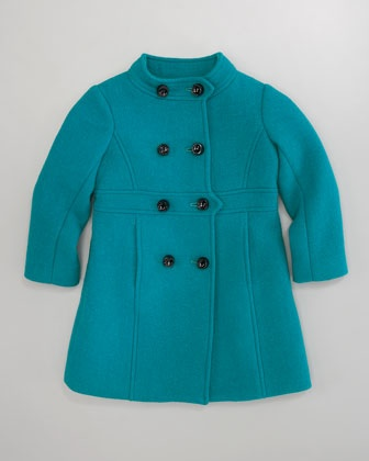 Madeline Coat & Deco Lily Dress by Milly Minis at Neiman Marcus.