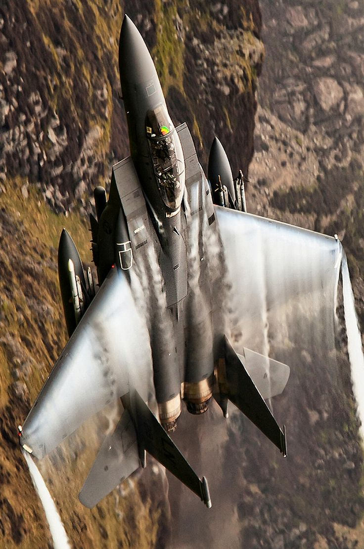 F-15 E Strike Eagle. I rode in one of these for being selected as Airman of the Quarter! What an amazing machine!