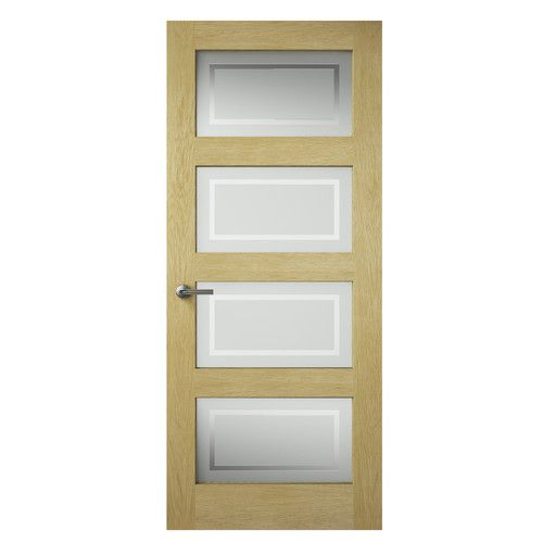 Found it at Wayfair.co.uk - Shaker Style Oak Glazed Internal Door