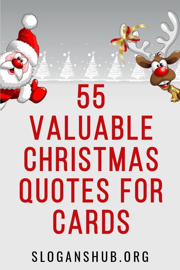 55 Valuable Christmas Quotes For Cards Christmas Card Sayings Christmas Card Verses Homemade Christmas Cards