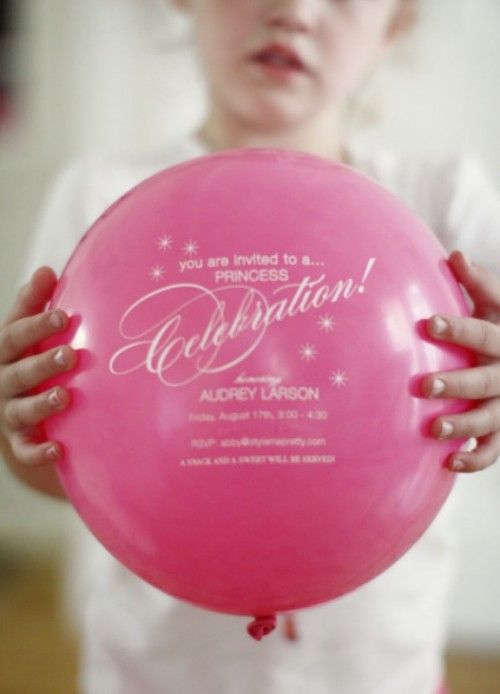 Funny DIY Balloon Wedding Party Invitations | Weddingomania