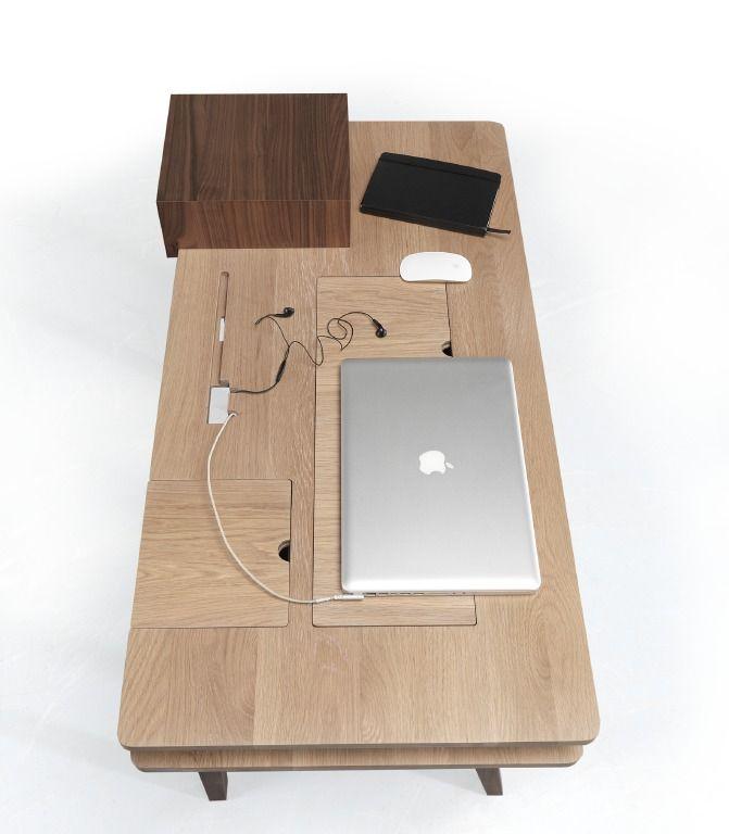 Een opgeruimd bureau - Meti Desk, Wewood Studio - Wonen Voor Mannen