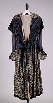 evening coat, 1917-20