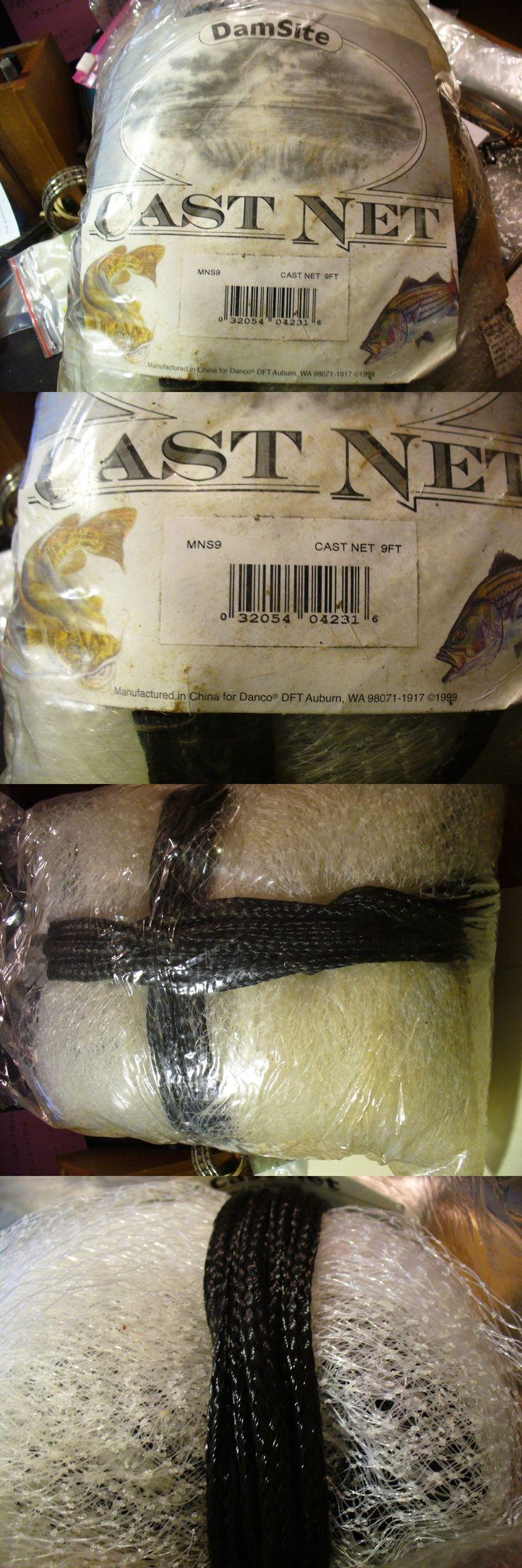 Nets 81458: Danco 9 Ft Cast Throw Fishing Net-18 Ft Diameter 3 8 Mono Square Mesh -> BUY IT NOW ONLY: $54.99 on eBay!