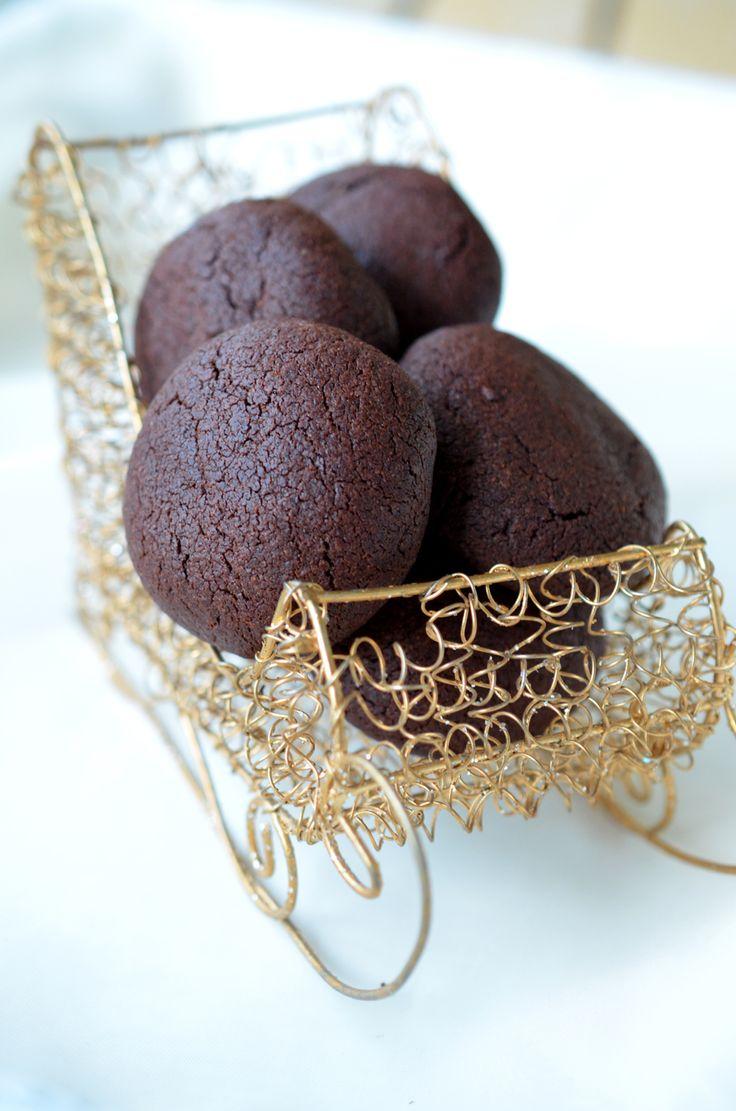 Ninas kleiner Food-Blog: Schoko-Erdnuss-Kekse