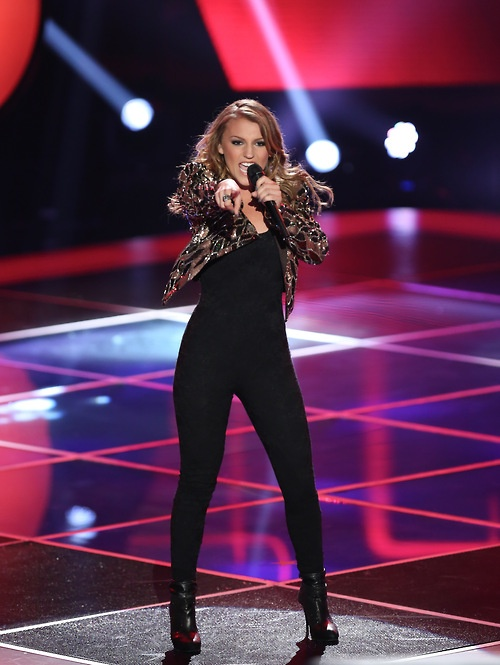 It was #TeamXtina all the way for Jordan Pruitt! #TheVoice
