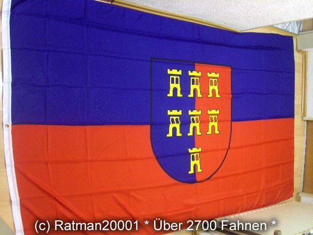 Fahnen Flagge Siebenbürgen Sachsen - 1 - 150 x 250 cm