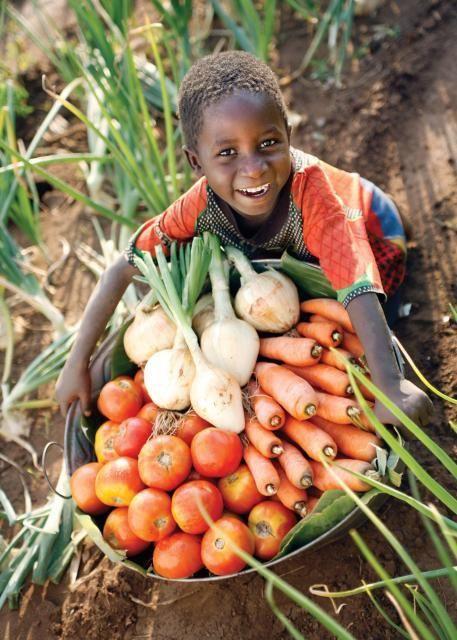 Beautiful smile from Sierra Leone
