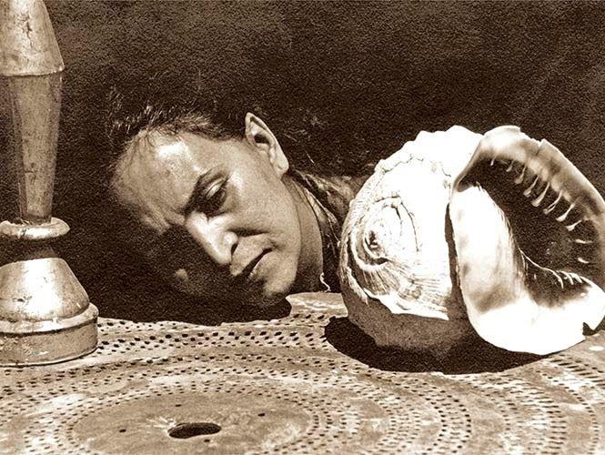 María Izquierdo retratada por Manuel Álvarez Bravo, 1932