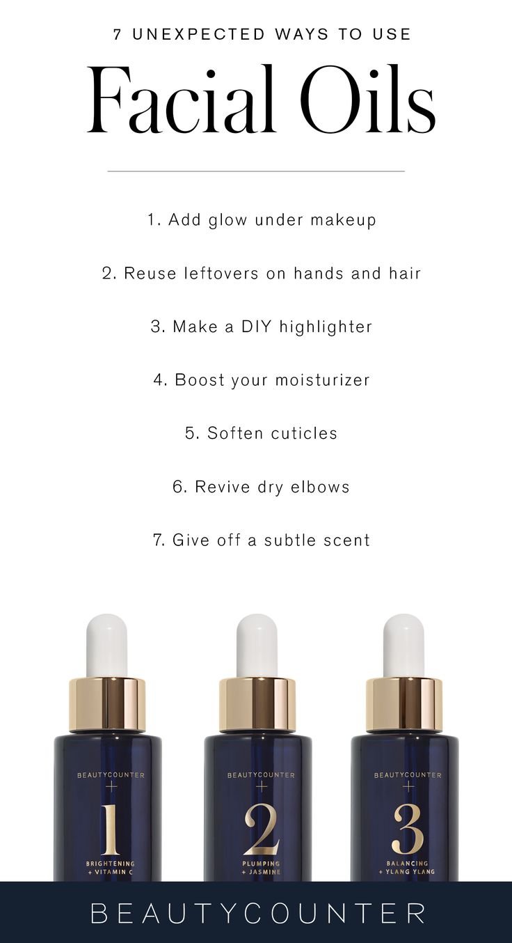 By now, you're probably familiar with the skin care uses for plant-based facial oils, but how about the lesser-known hacks? The same nutrient-rich and vitamin-packed formulas that add radiance to your complexion can also treat cracked cuticles and double as highlighters. Click to get the details of how you can use your Beautycounter facial oils in seven unexpected ways.