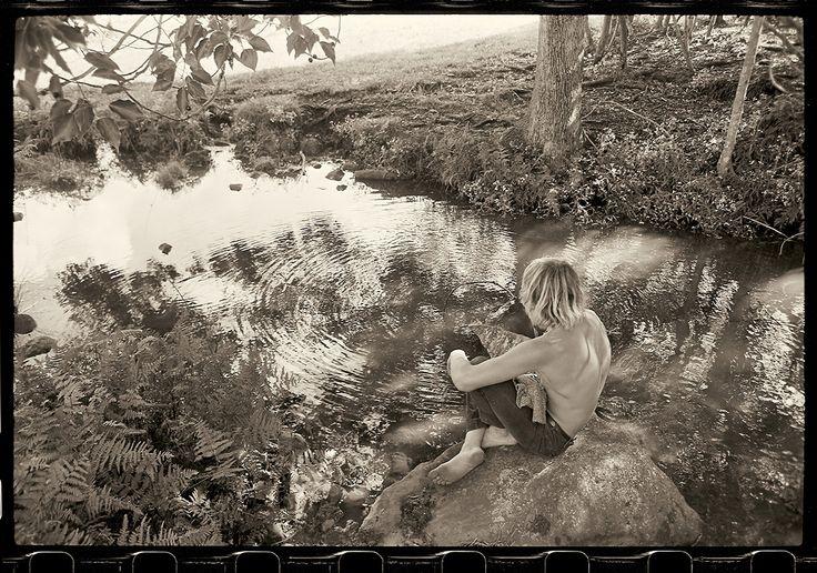 Wayne Lynch at Possum Creek, 1969, by John Witzig