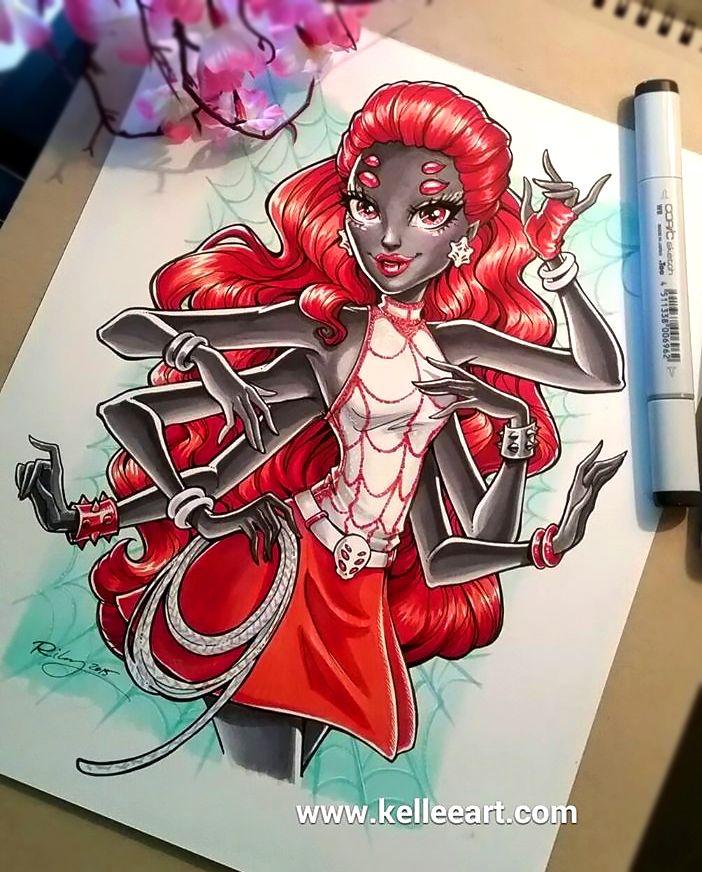 Webarella+commission+by+KelleeArt.deviantart.com+on+@DeviantArt