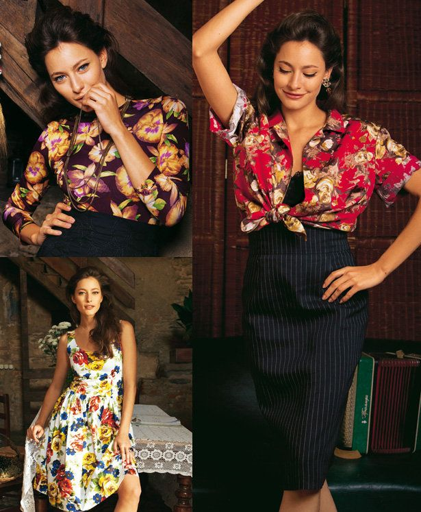 Read the article 'Havana Nights: 13 Sultry Patterns' in the BurdaStyle blog 'Daily Thread'.