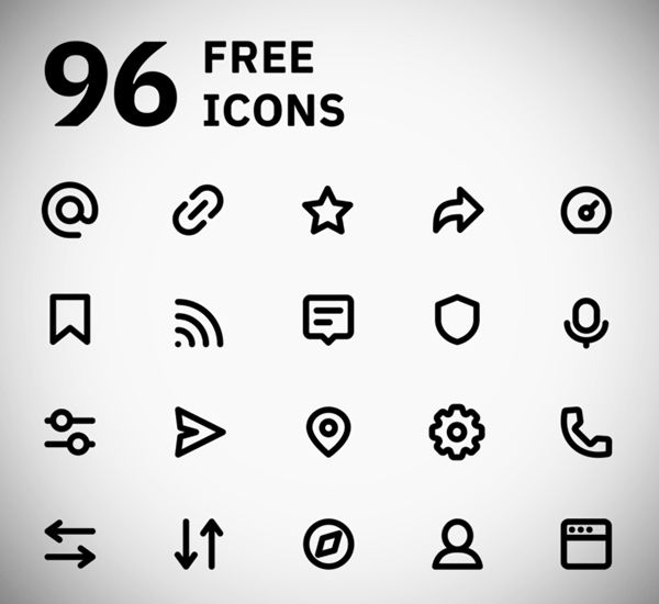 Free Icons 40 Modern Useful Icon Sets For Designers With Images