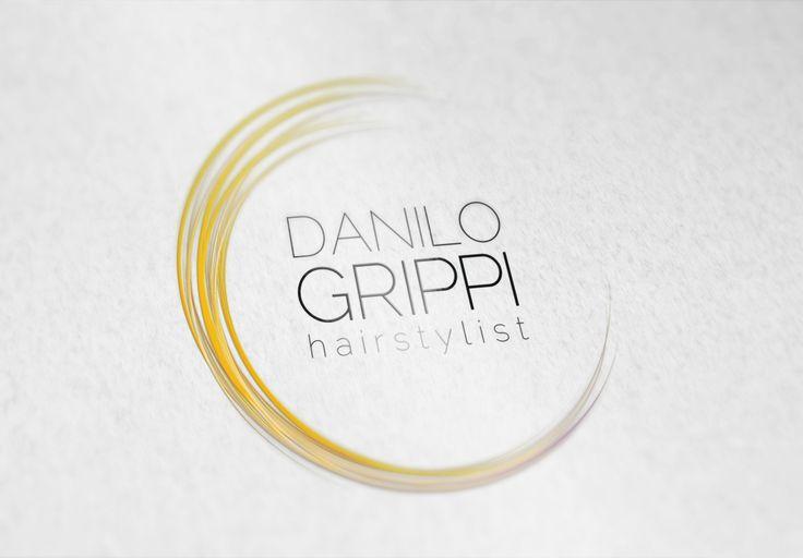 Logo for Danilo Grippi - hairstylist  #graphicdesign #logo #logodesign #hairstylist