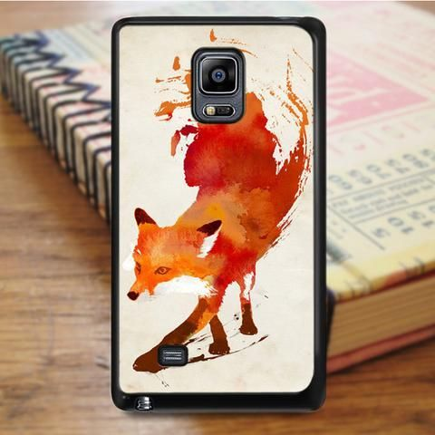 Woft water Color Tattoo Samsung Galaxy Note 4 Case