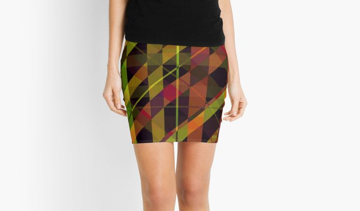 Paradox Pencil Skirt by Scar Design #skirt #scifi_skirt #modern_skirt #plaid #plaid_skirt #pattern_skirt #pencil_skirt #pattern #geek #fashion #womens_fashion #scifi_gifts #home_decor #plaid_skirt