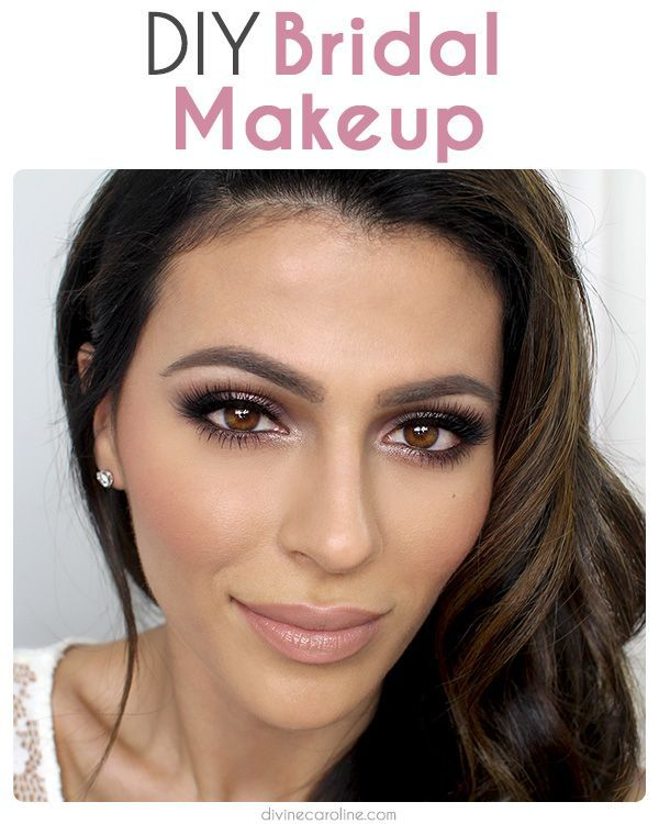 Wedding Makeup Ideas For Brunettes : DIY Wedding Makeup: How to Get a Beautiful Bridal Face for ...