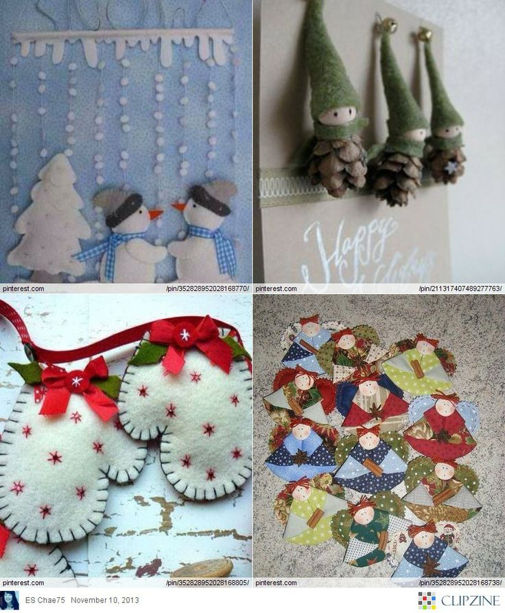 Christmas Craft Ideas On Pinterest Part - 45: Christmas Crafts