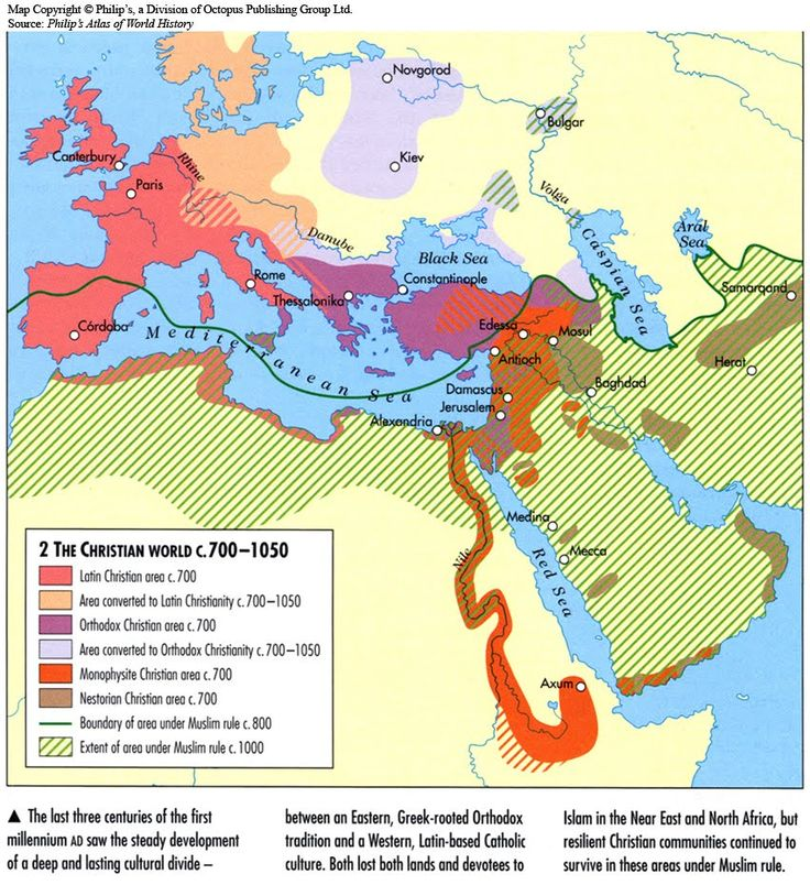 The Christian World c. 700 - 1050