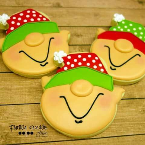 Christmas Elves (Ice Cream Cookie Cutter)