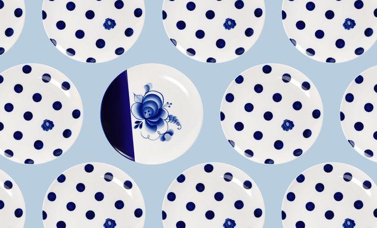 Стеклянная ваза дизайн