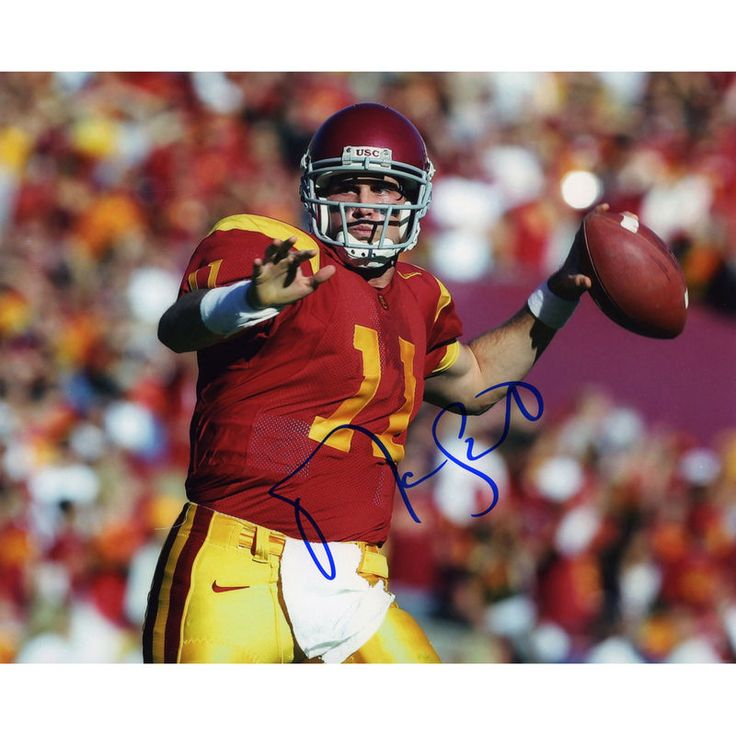 "Matt Leinart USC Trojans Fanatics Authentic Autographed 8"" x 10"" Throwing Stance Photograph"