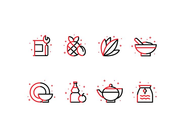 Icons 2 for Chinese food by Alexander Lafaki