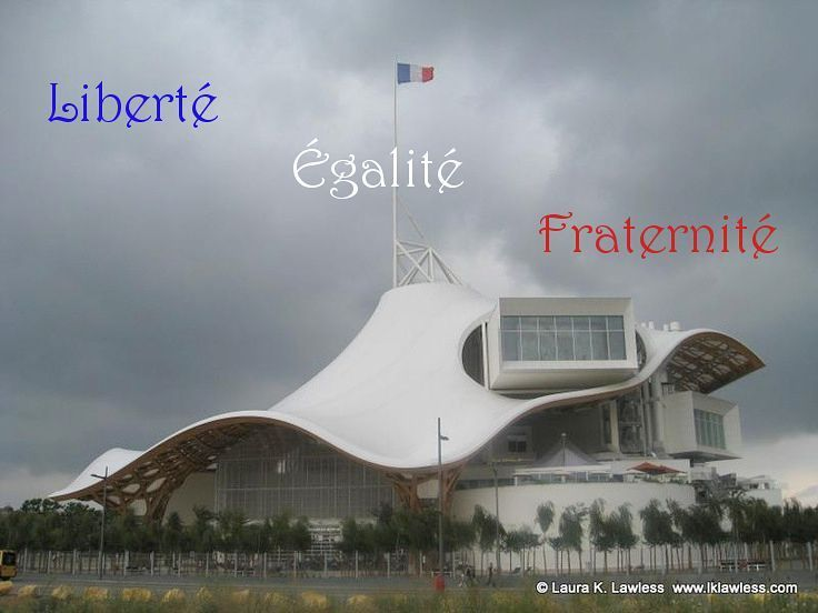 Liberté Égalité Fraternité - French motto    https://www.lawlessfrench.com/expressions/liberte-egalite-fraternite/  #frenchexpression #learnfrench #fle #french #france