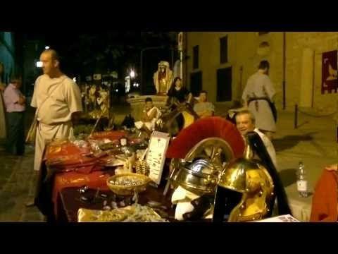 Hispellum-- Spello's Festival celebrating its ancient Roman roots.