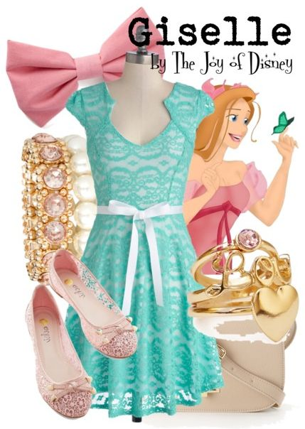 Giselle, from Enchanted, inspired outfit! -- Disney Fashion