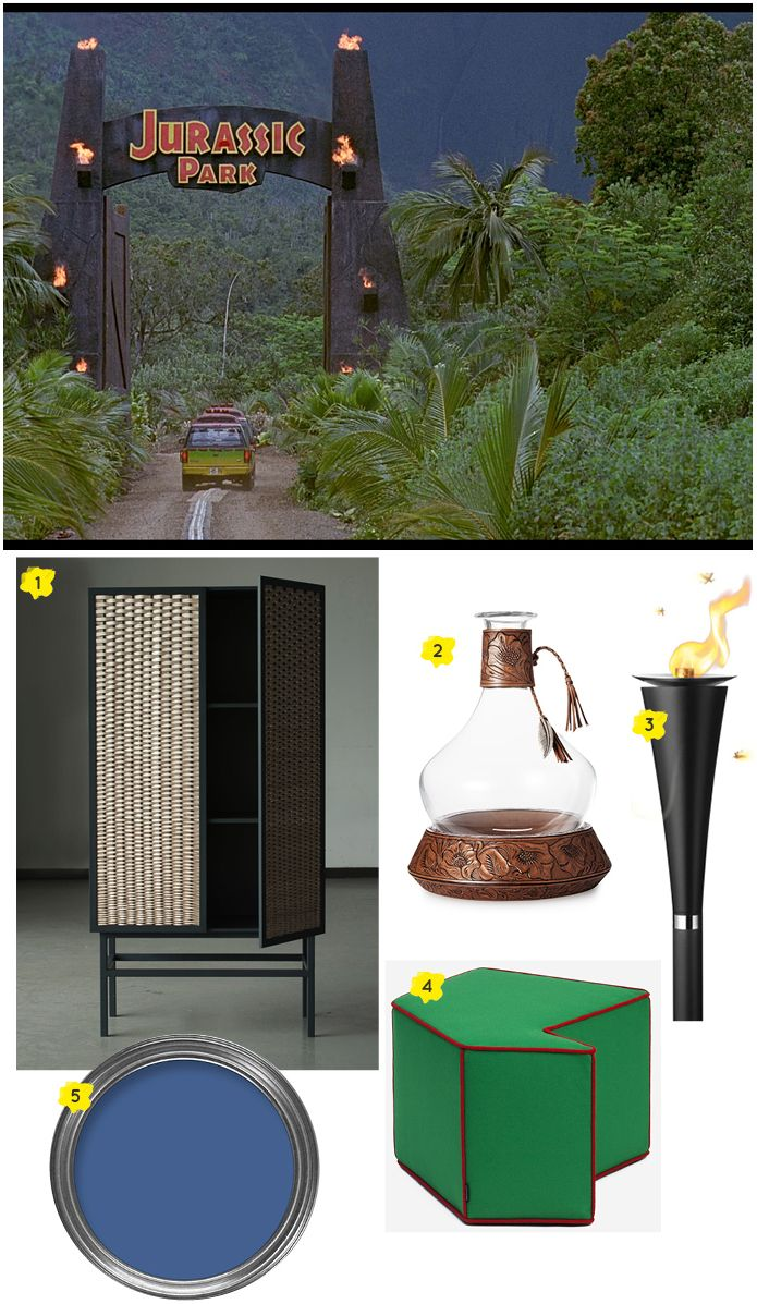We love this Jurassic Park inspired blog by Lucy Gough. Ideas to bring a bit of Hawaiian tropical landscape into your home and featuring our Spike Torch by @menudesignshop