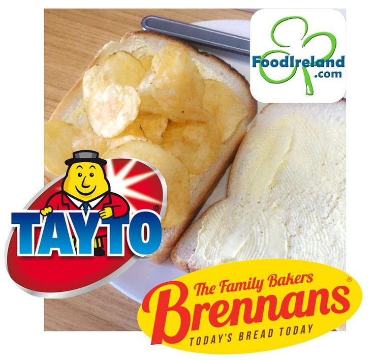 The tayto sambo - Ireland's greatest pairing - Brennans Bread & Tayto Crisps - Available in USA!