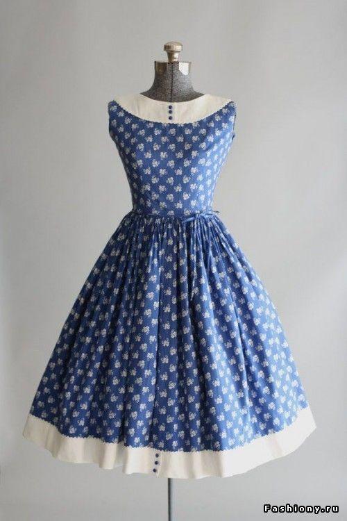 100 платьев в стиле 'винтаж'. Часть 3