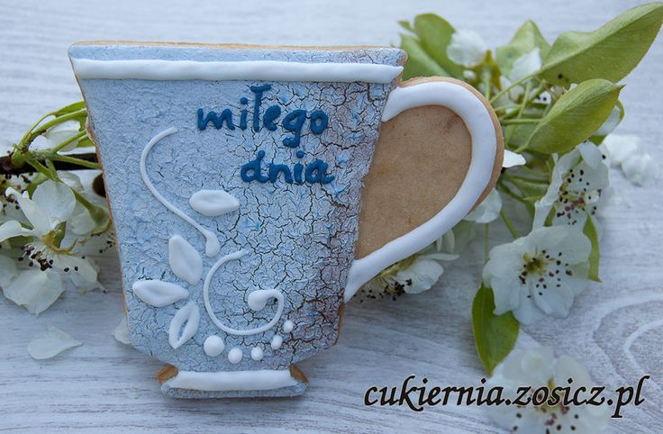 cookie cup, shabby chic style