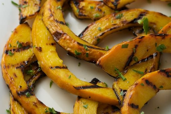 Sweet and Sour Grilled Pumpkin Recipe | Appetizers and Side Dishes ...