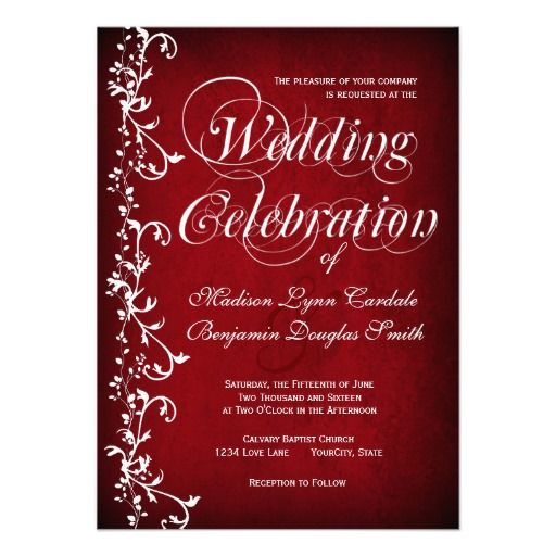Floral Invitations for best invitations example