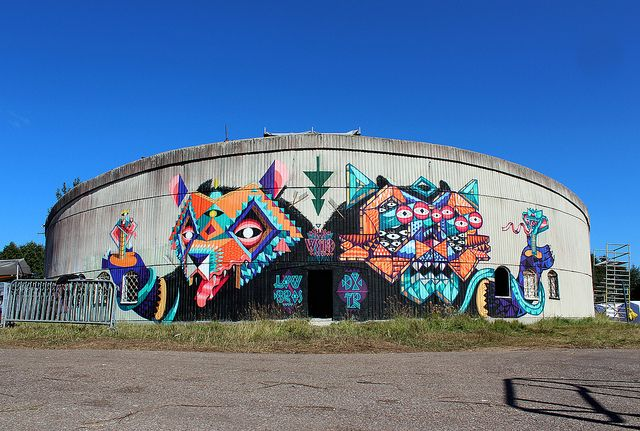 Beasts in the East / Low Bros x Dxtr - Šventoji / Lithuania by DXTR - The Weird, via Flickr