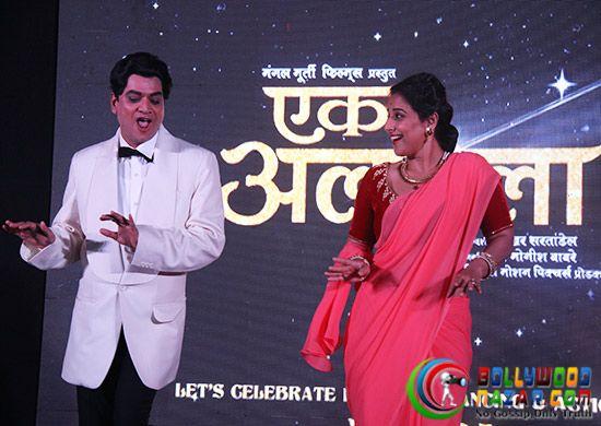 VIDYA BALAN PROMOTES EK ALBELA IN HER GEETA BALI LOOK  #Bollywoodnazar  #VidyaBalan #MangeshDesai