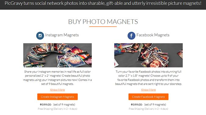 { Gift Guide } – Photo Magnets from PicGravy