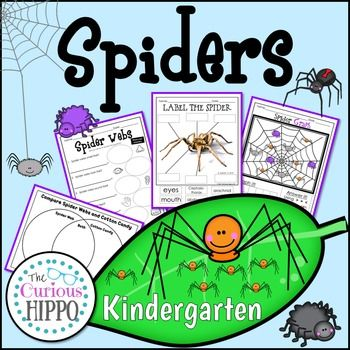 This Spider pack is a great addition to any curriculum, with language, math, and science pages!Contents:Spider Facts KWL SpidersWriting PageSpider Word Practice PageWeb Word Practice PageSpider MatchSpider Shadow MatchLabel the SpiderColor by NumberSort Who Eats it: People/SpidersSpider Graph BW & ColorSpider Weigh & BalanceSpider Collage, Graph, & Data ReviewObserve, Write & Draw Spider WebsObserve, Write & Draw CottonObserve, Write & Draw Cotton CandyVenn Diagram: Sp...